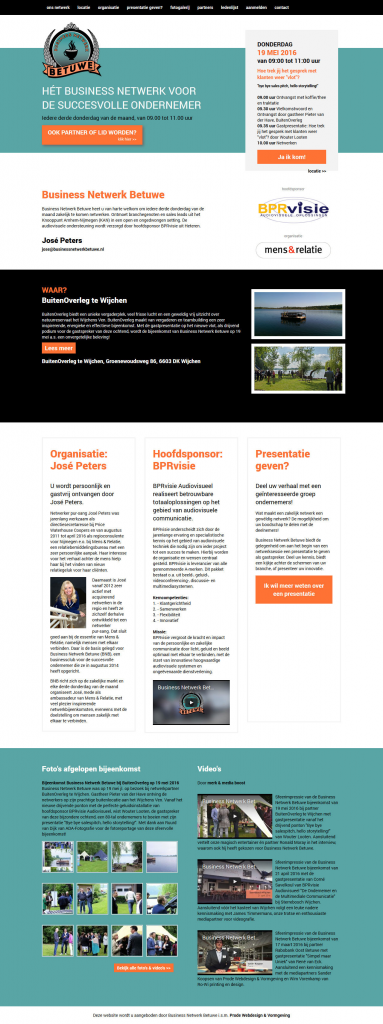 Prode-Business-Netwerk-Betuwe-Website