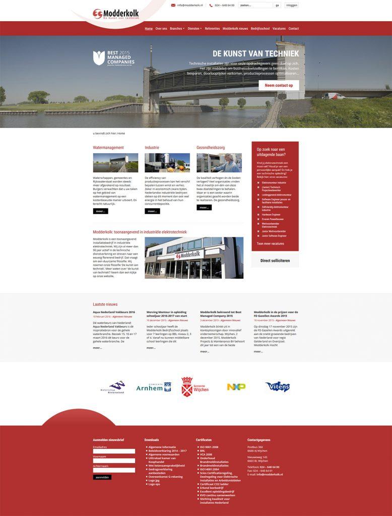 Prode-Modderkolk-Website