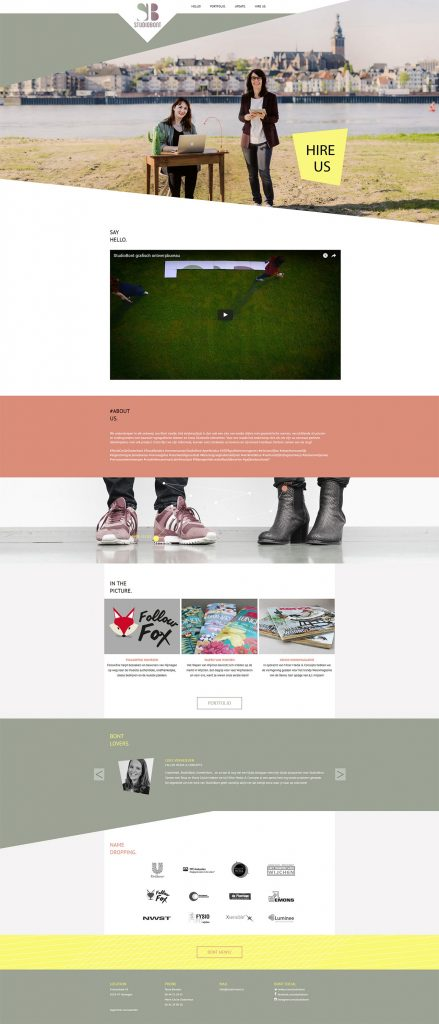 Prode-StudioBont-Website