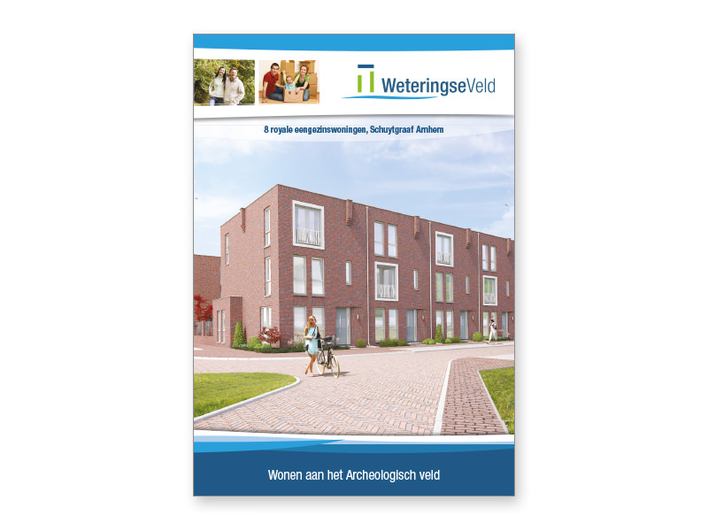 Brochures en websites voor vastgoed laten ontwerpen en vormgeven