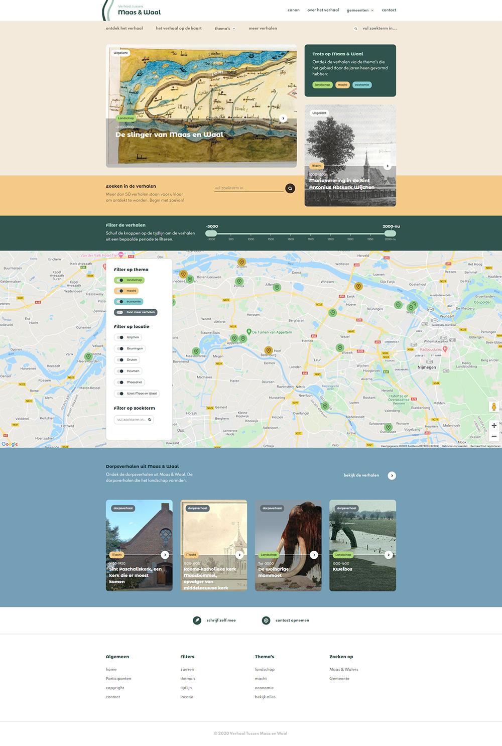 prode-portfolio-Verhaal-tussen-maas-en-waal-screenshot