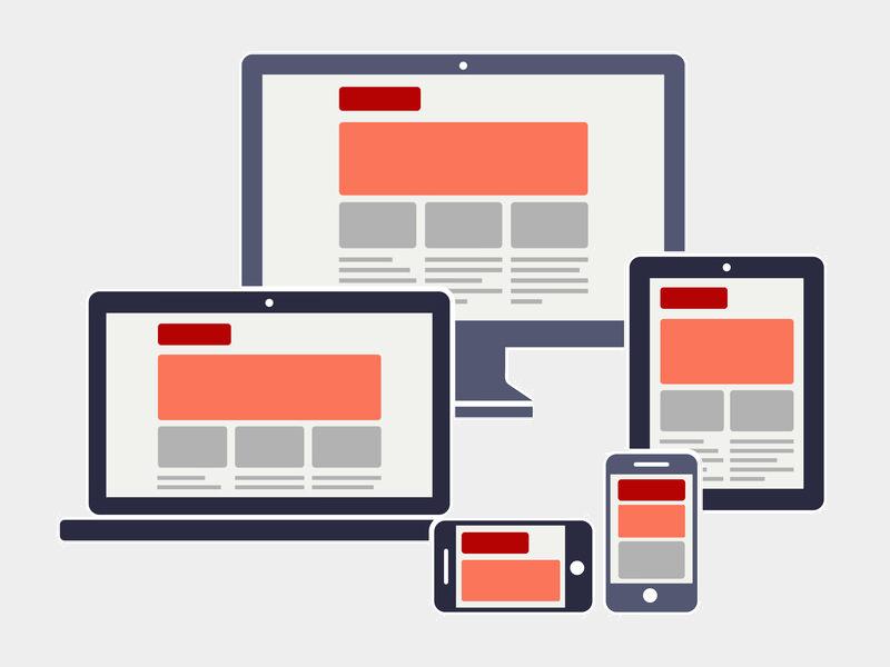 Responsive webdesign voor smartphone en tablet
