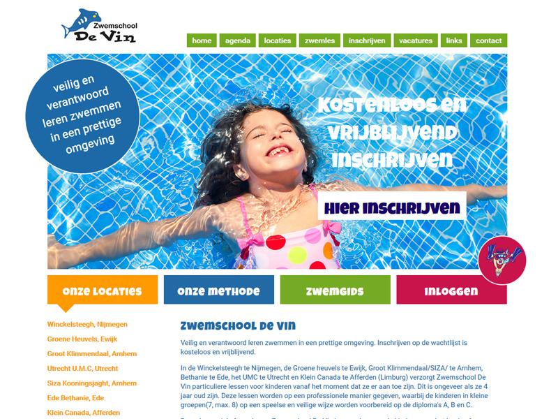 website zwemschool de vin